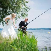 Als Hochzeitsfotograf in Senftenberg. Hochzeit am Senftenberger See.