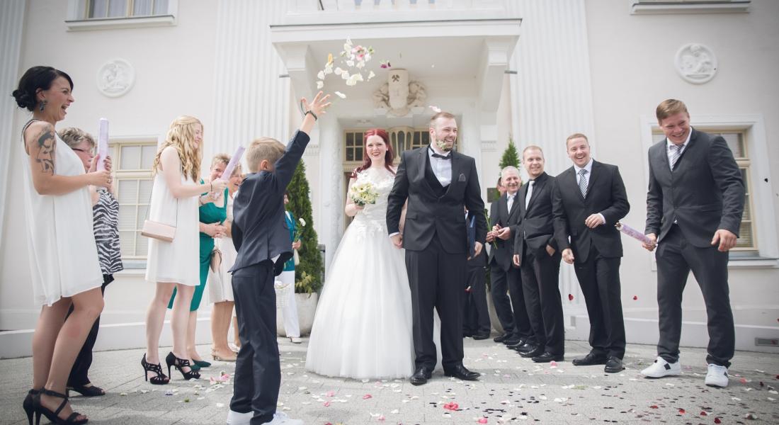 Als Hochzeitsfotograf in Großräschen. Die Hochzeit von Toni und Lysann.