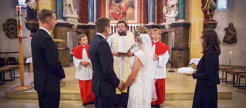 Als Hochzeitsfotograf in Wittichenau. Die Hochzeit von Anna und Marcel.