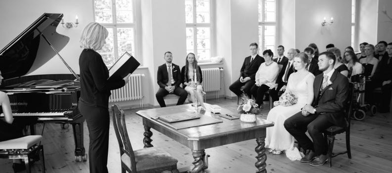 Als Hochzeitsfotograf in Senftenberg. Die Hochzeit von Caterina und Arthur.