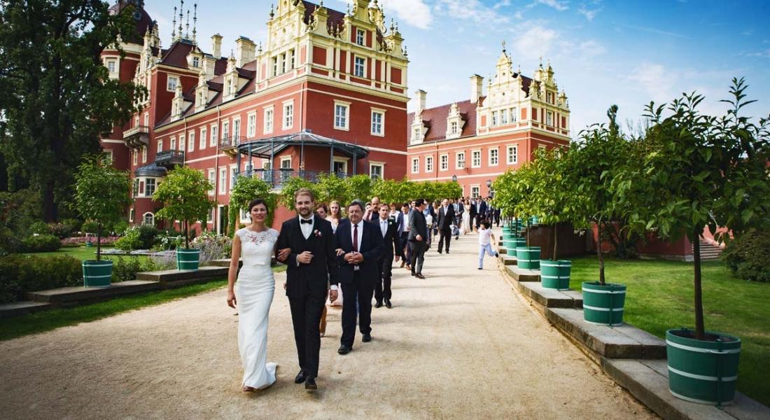 Als Hochzeitsfotograf in Bad Muskau bei Cottbus. Die Hochzeit von Aimèe und Marcus.