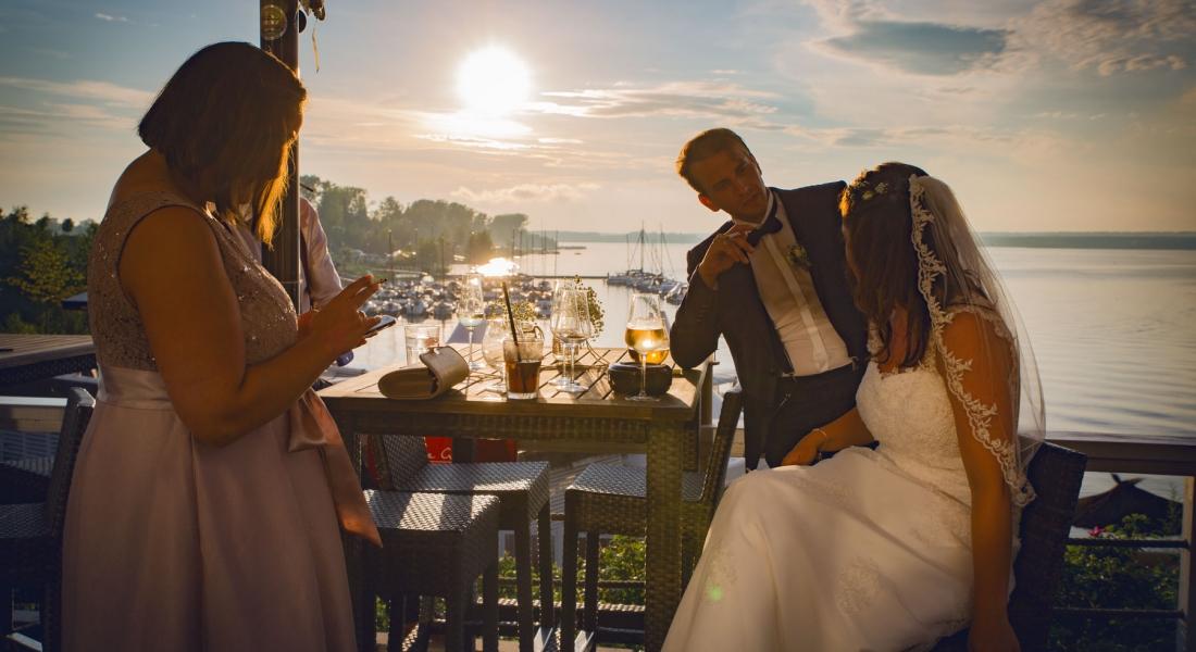 Als Hochzeitsfotograf in Geierswalde bei Senftenberg. Die Hochzeit von Antje und Alexander.